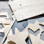 Plooten von Holz - mit Silhouette Hobbyploter
